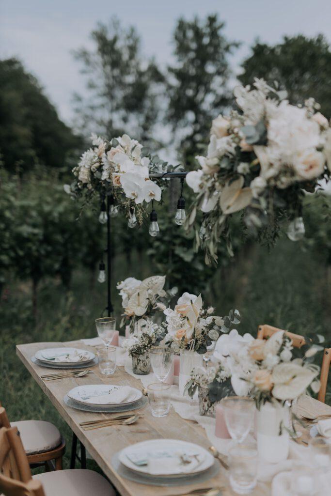 Hochzeit Reben